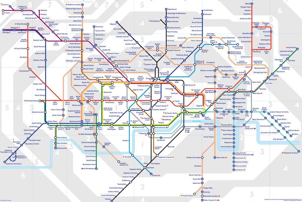 Tube Map Image