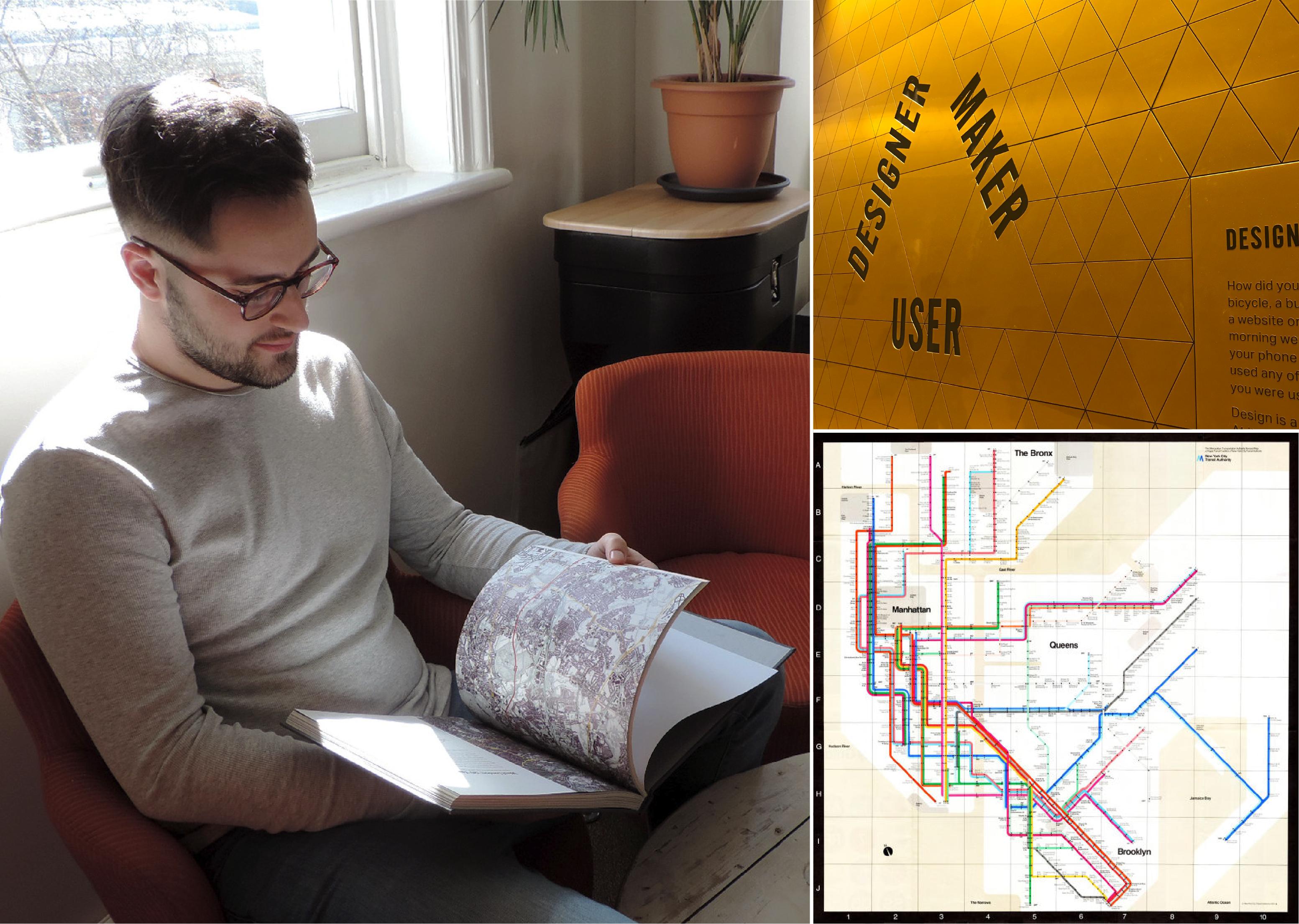 Richard, Design Museum and New York subway map