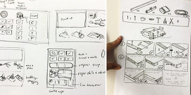 initial thumbnails of user guide