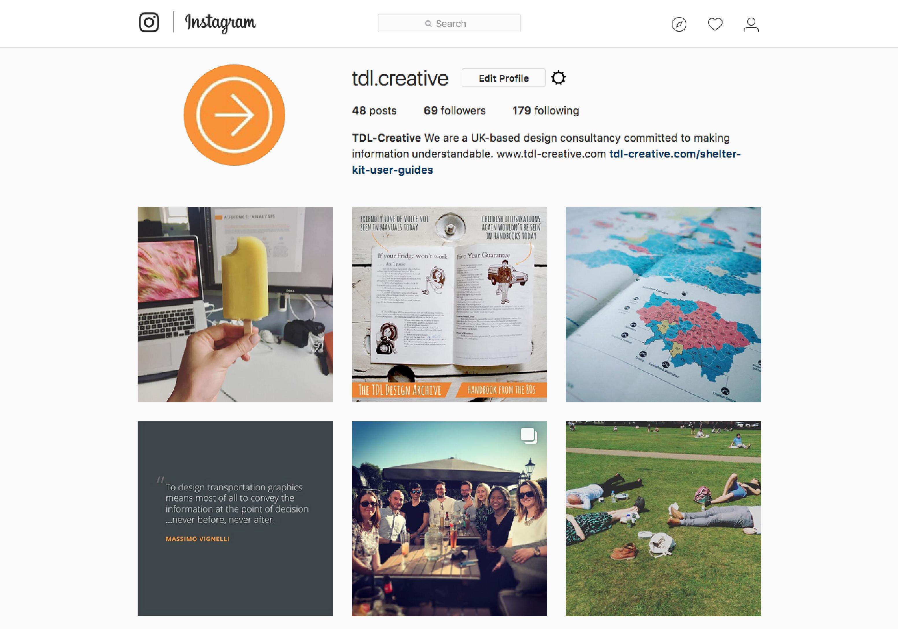 TDL-Creative Instagram